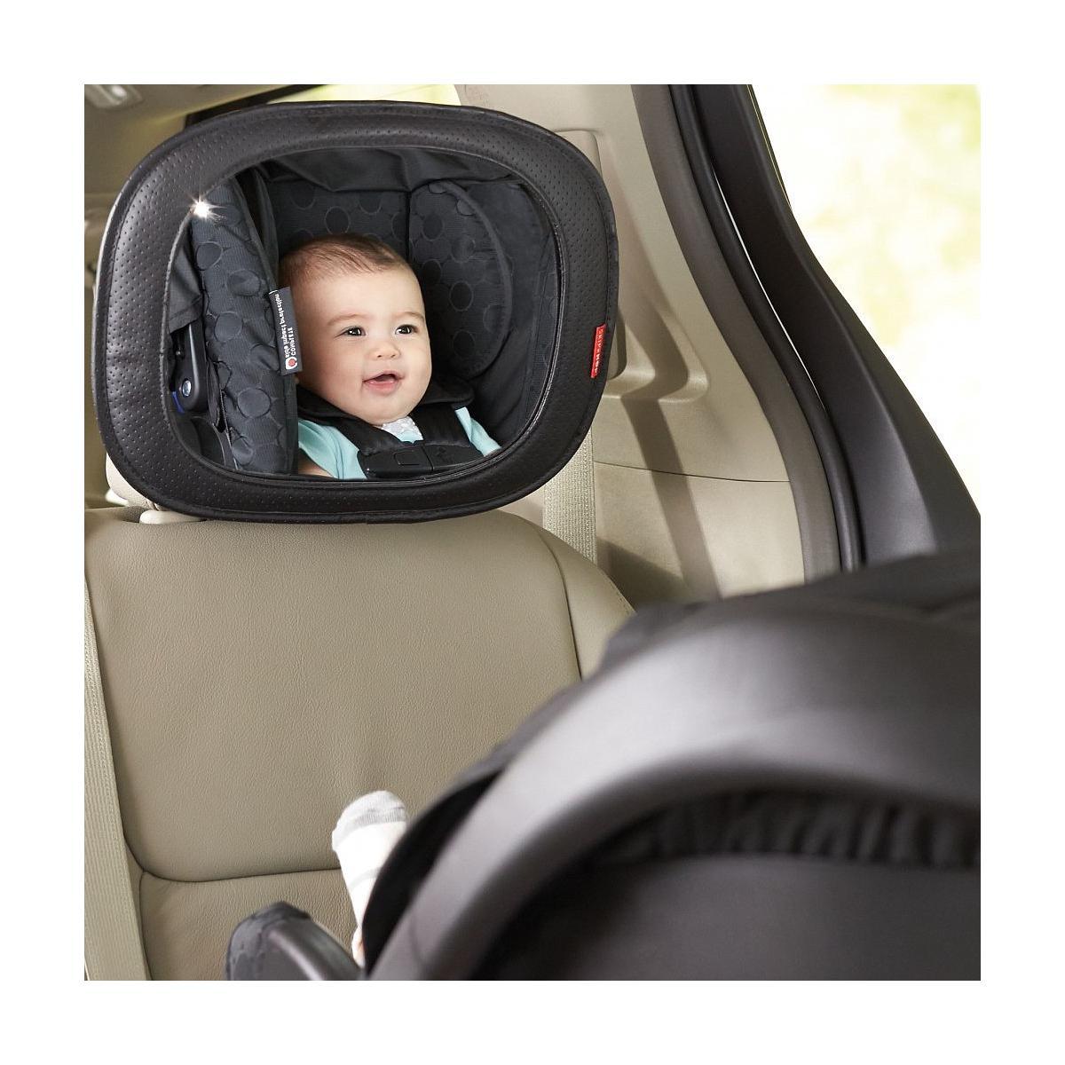 Miroir sécurité bébé OTG STYLE DRIVEN Skip Hop tonal chevron