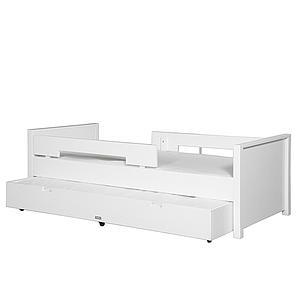 MIX & MATCH by Bopita JONNE Lit enfant 90x200 cm avec tiroir/tiroir lit blanc