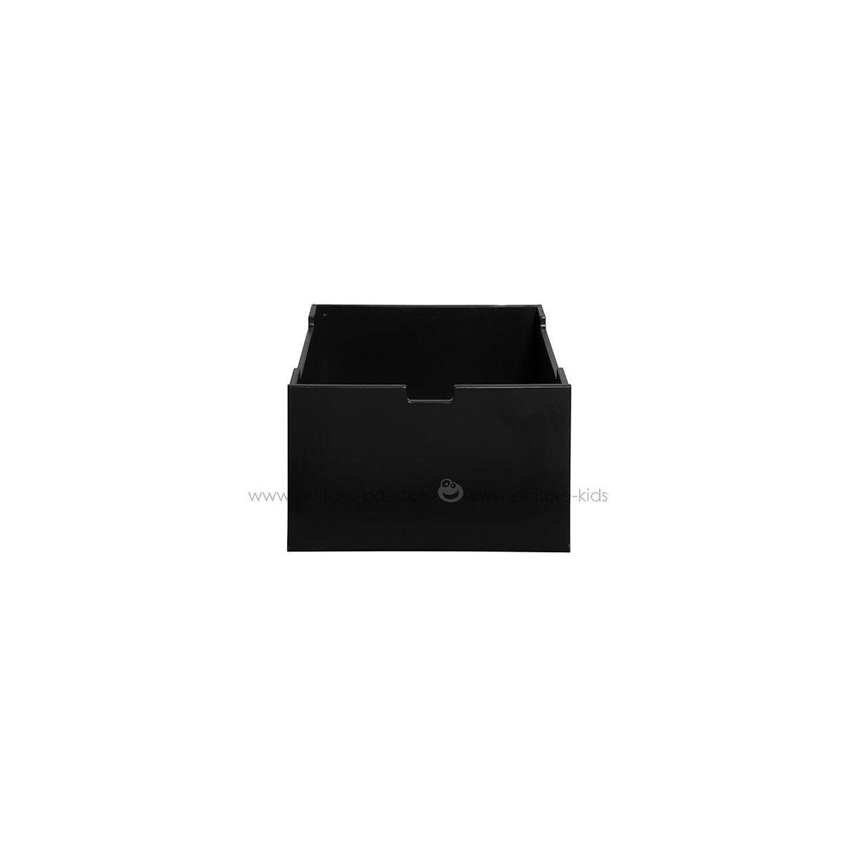 MIX & MATCH by Bopita Tiroir moyen pour armoire 1 porte et parc Black