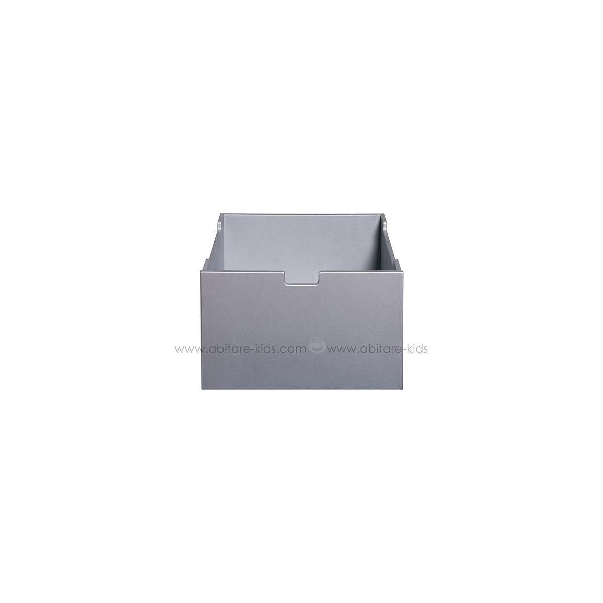 MIX & MATCH by Bopita Tiroir moyen pour armoire 1 porte et parc Silver