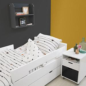 MIX & MATCH by Bopita Tiroir / Tiroir lit 90x200 cm Blanc