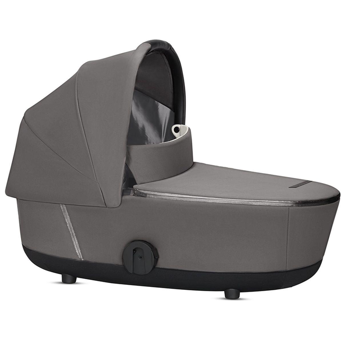 Nacelle de luxe MIOS Cybex manhattan grey-mid grey
