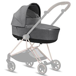 Nacelle de luxe MIOS Cybex Plus Manhattan Grey Plus-mid grey