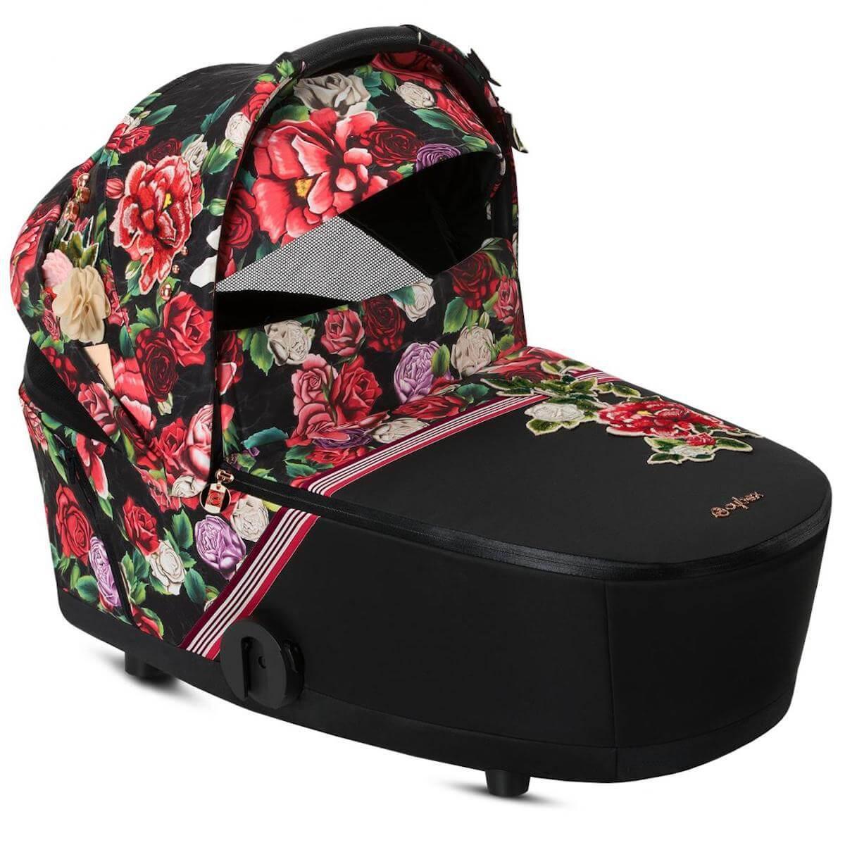 Nacelle de luxe MIOS Cybex Spring Blossom Dark-black