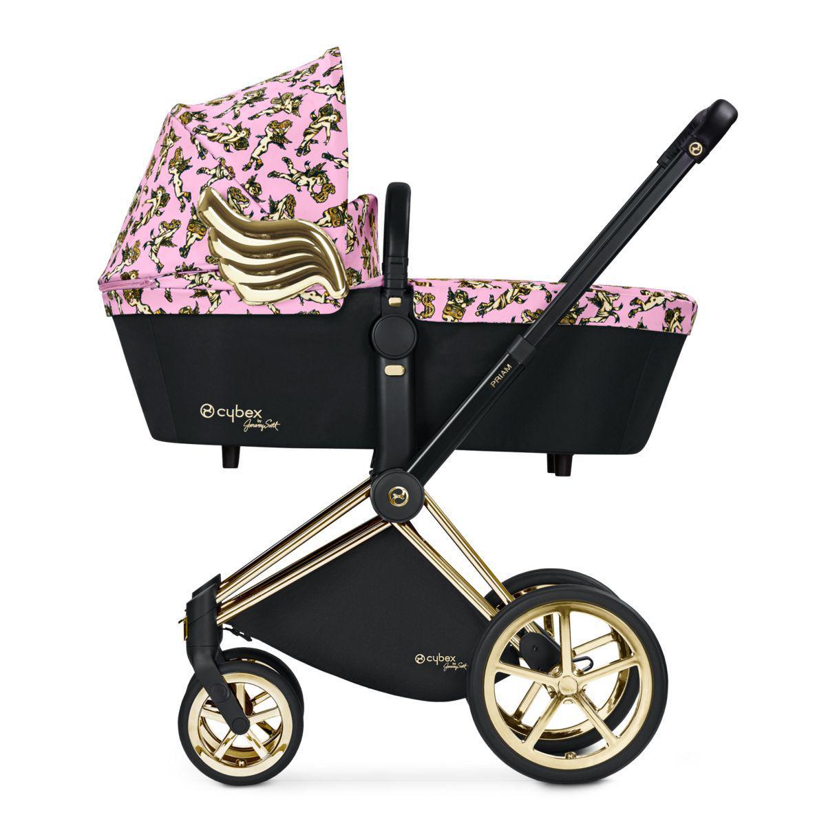 Nacelle de luxe PRIAM Cybex cherub pink-pink