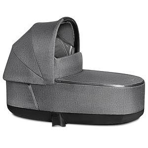 Nacelle de luxe PRIAM Cybex Plus Manhattan Grey Plus-mid grey