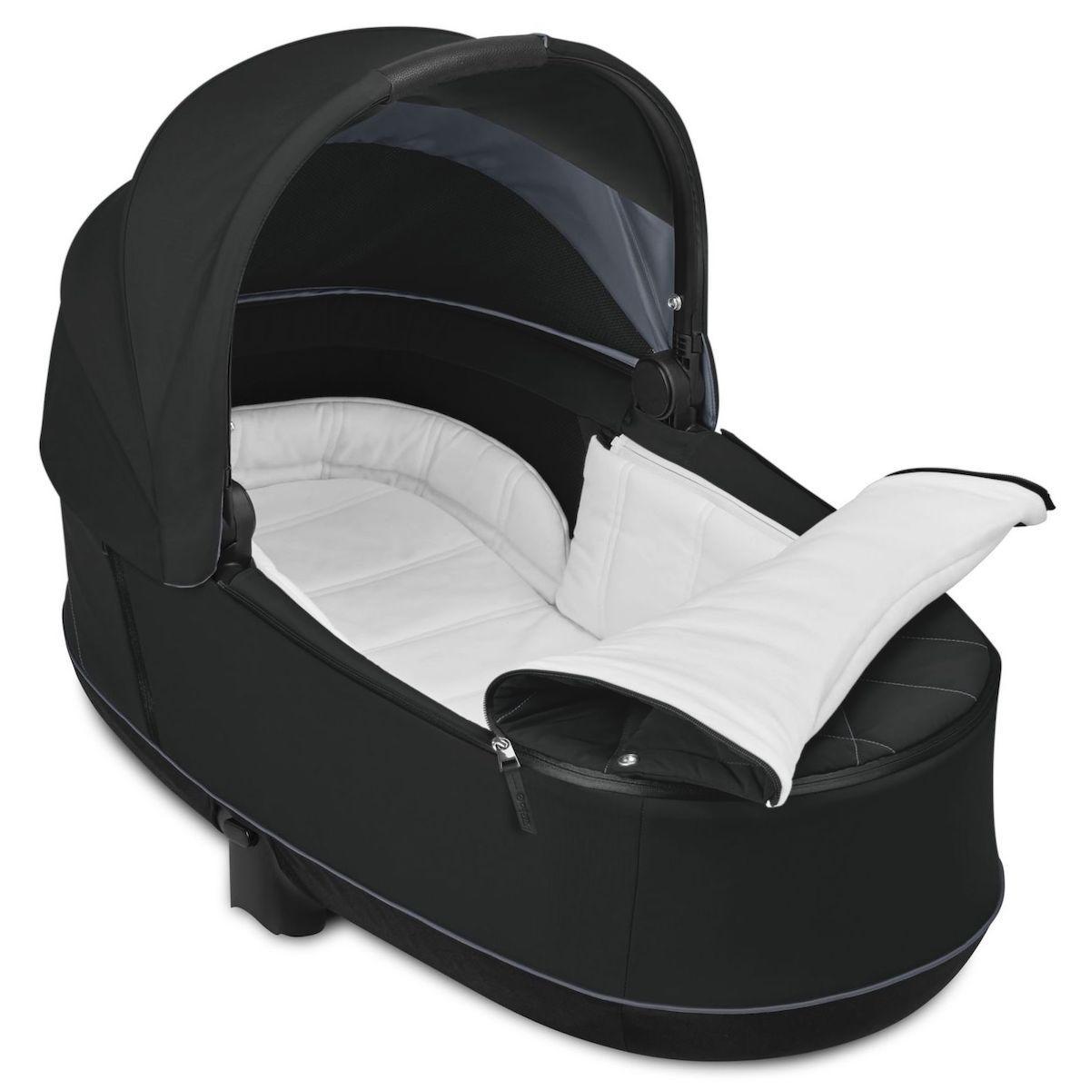 Nacelle luxe PRIAM Cybex deep black-black