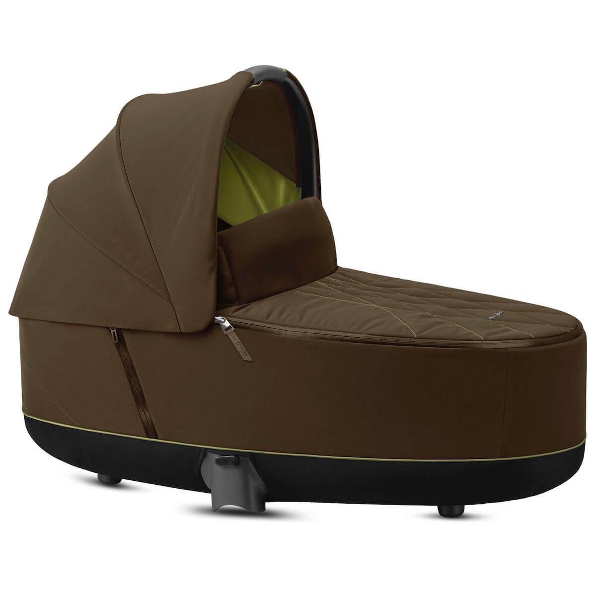 Nacelle luxe PRIAM Cybex Khaki green-khaki brown