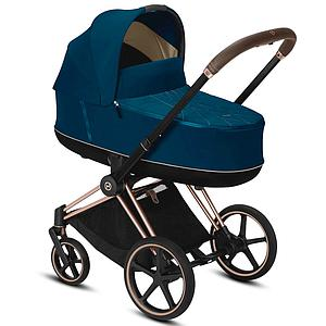 Nacelle luxe PRIAM Cybex Mountain blue-turqoise