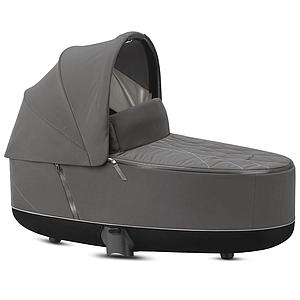 Nacelle luxe PRIAM Cybex Soho grey-mid grey
