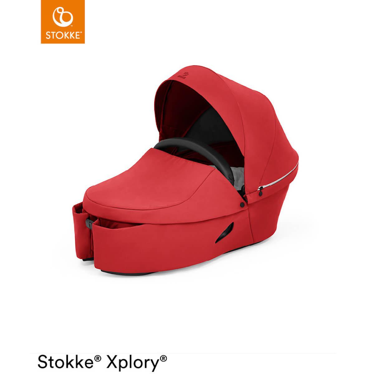 Nacelle XPLORY X Stokke Ruby Red