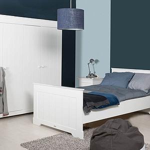 NARBONNE by Bopita Armoire 3 portes Blanc