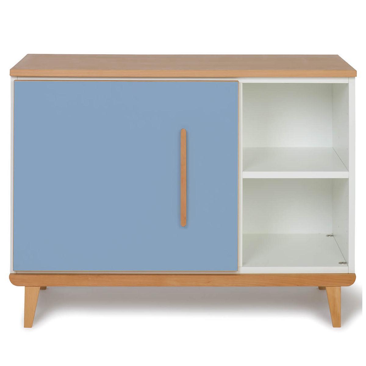 Petit meuble 1 porte NADO capri blue