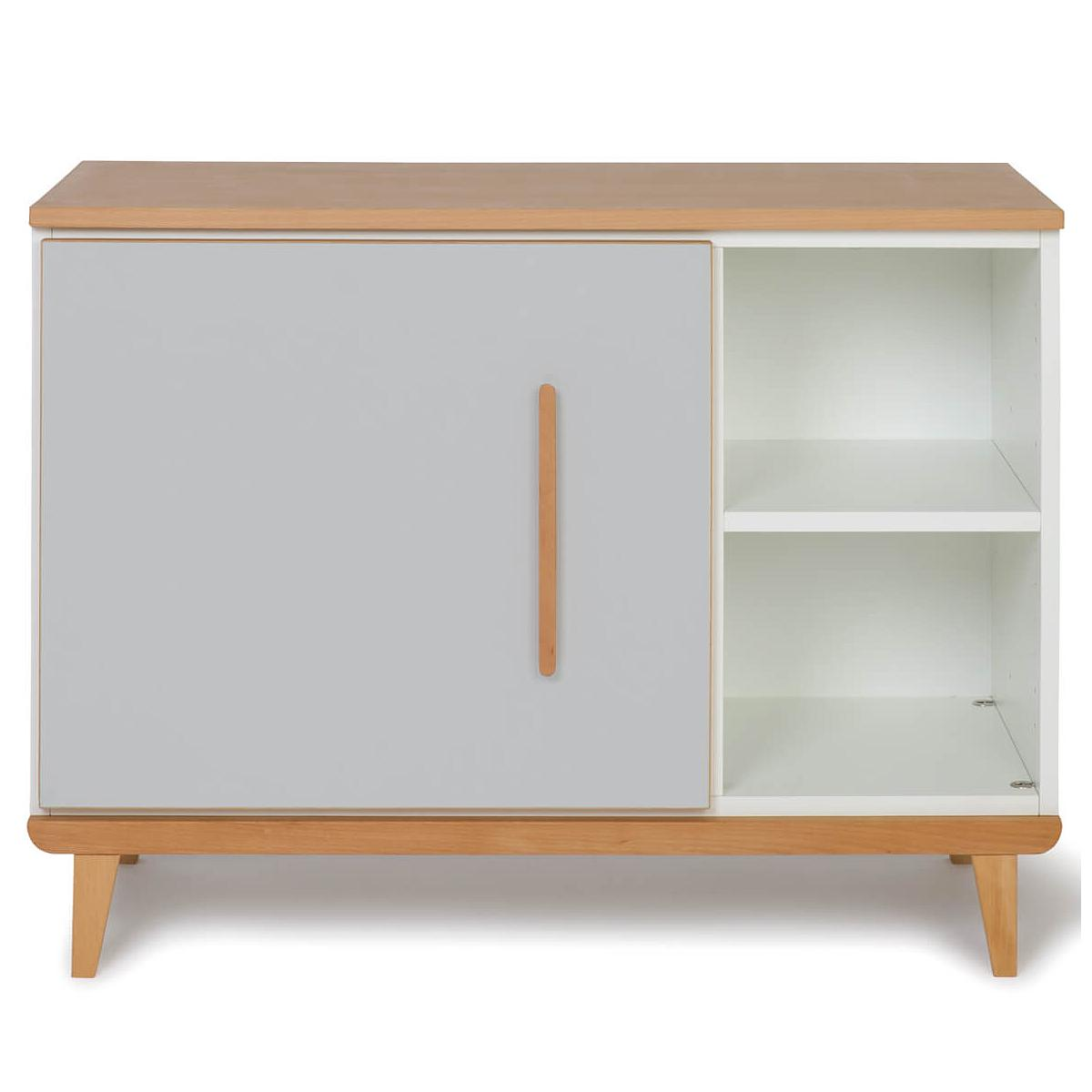 Petit meuble 1 porte NADO manhattan grey