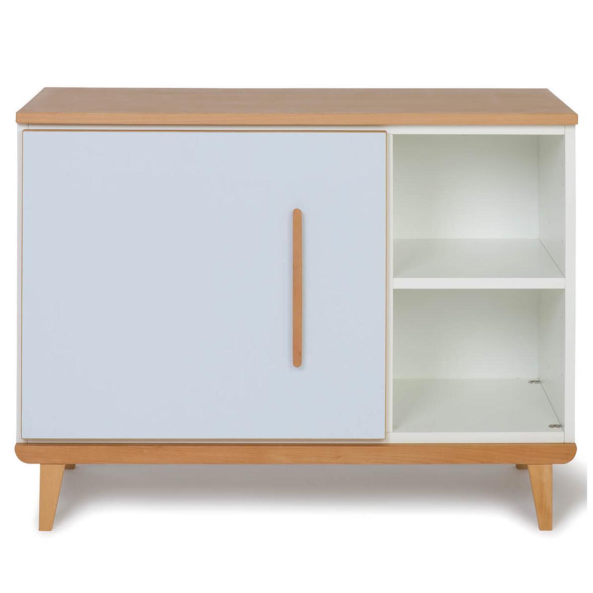 Petit meuble 1 porte NADO sky blue