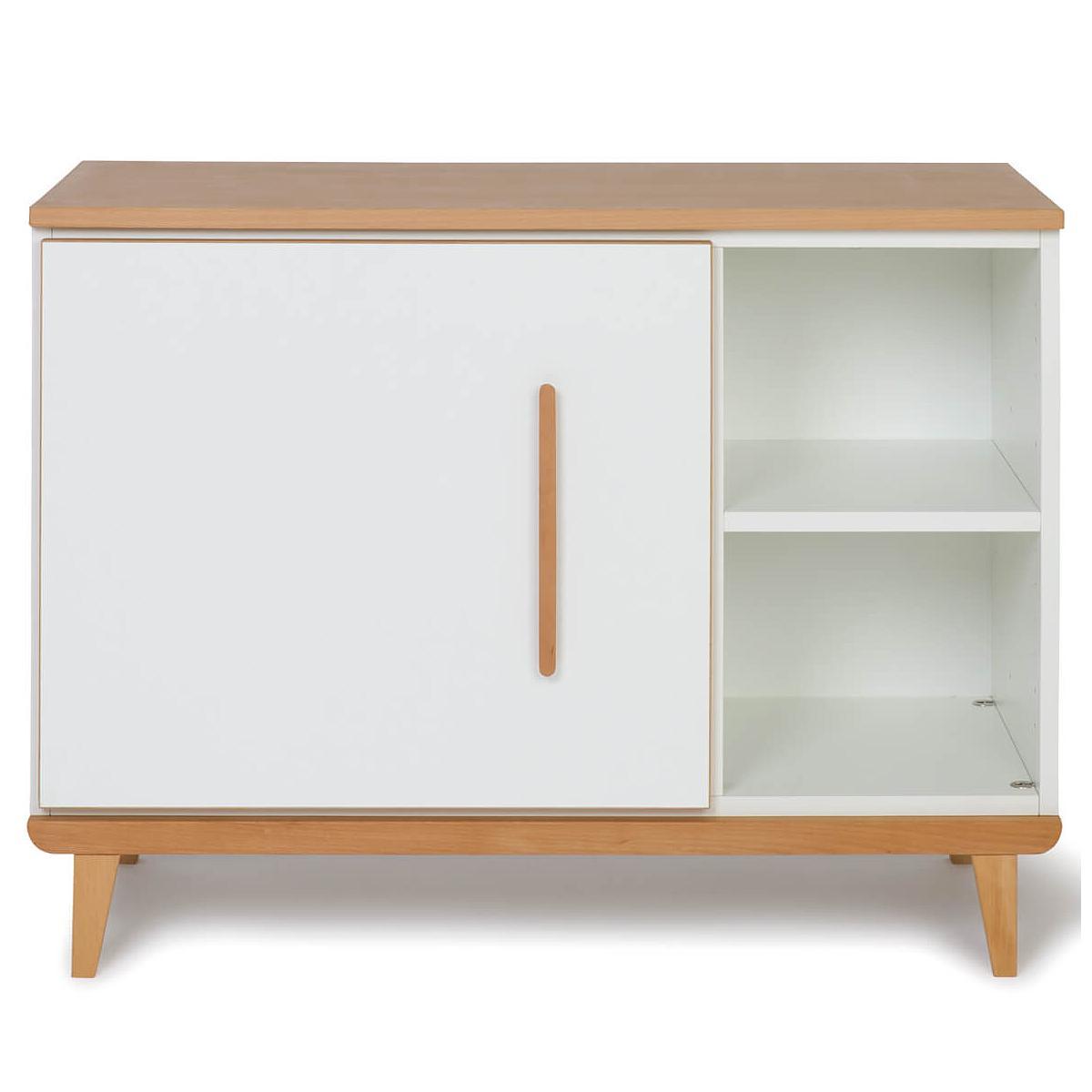 Petit meuble 1 porte NADO white