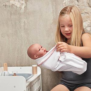 Plan à langer poupée Astrup blanc