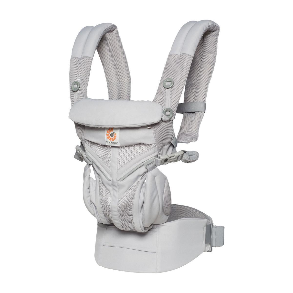 Porte-Bébé OMNI 360 Cool Air Mesh Ergo Baby Pearl Grey