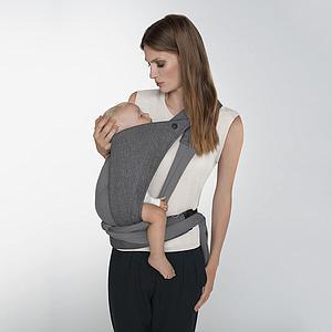 Porte-bébé YEMA TIE Cybex Denim Manhatten Grey-mid grey