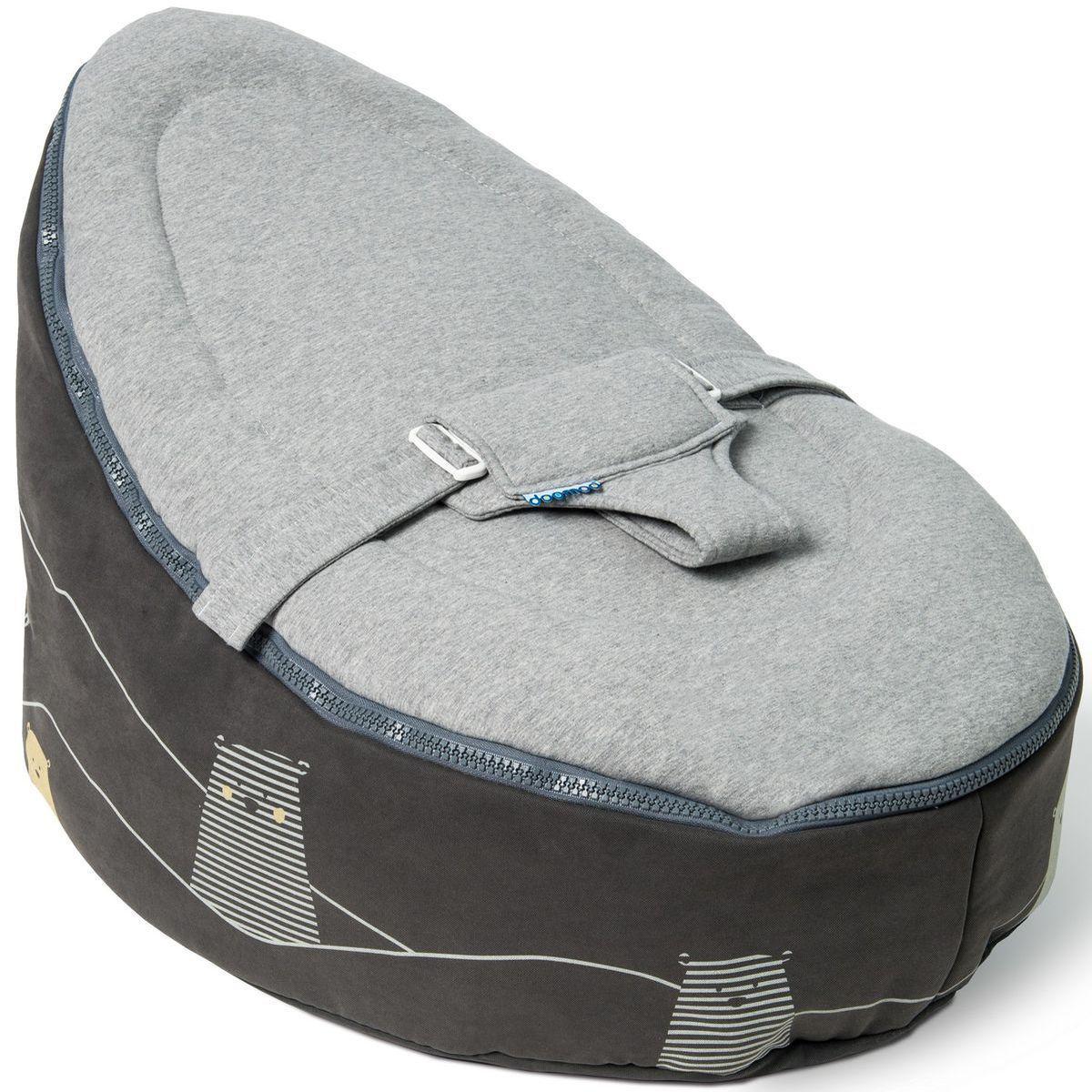 Pouf-relax SEAT Doomoo bear-grey