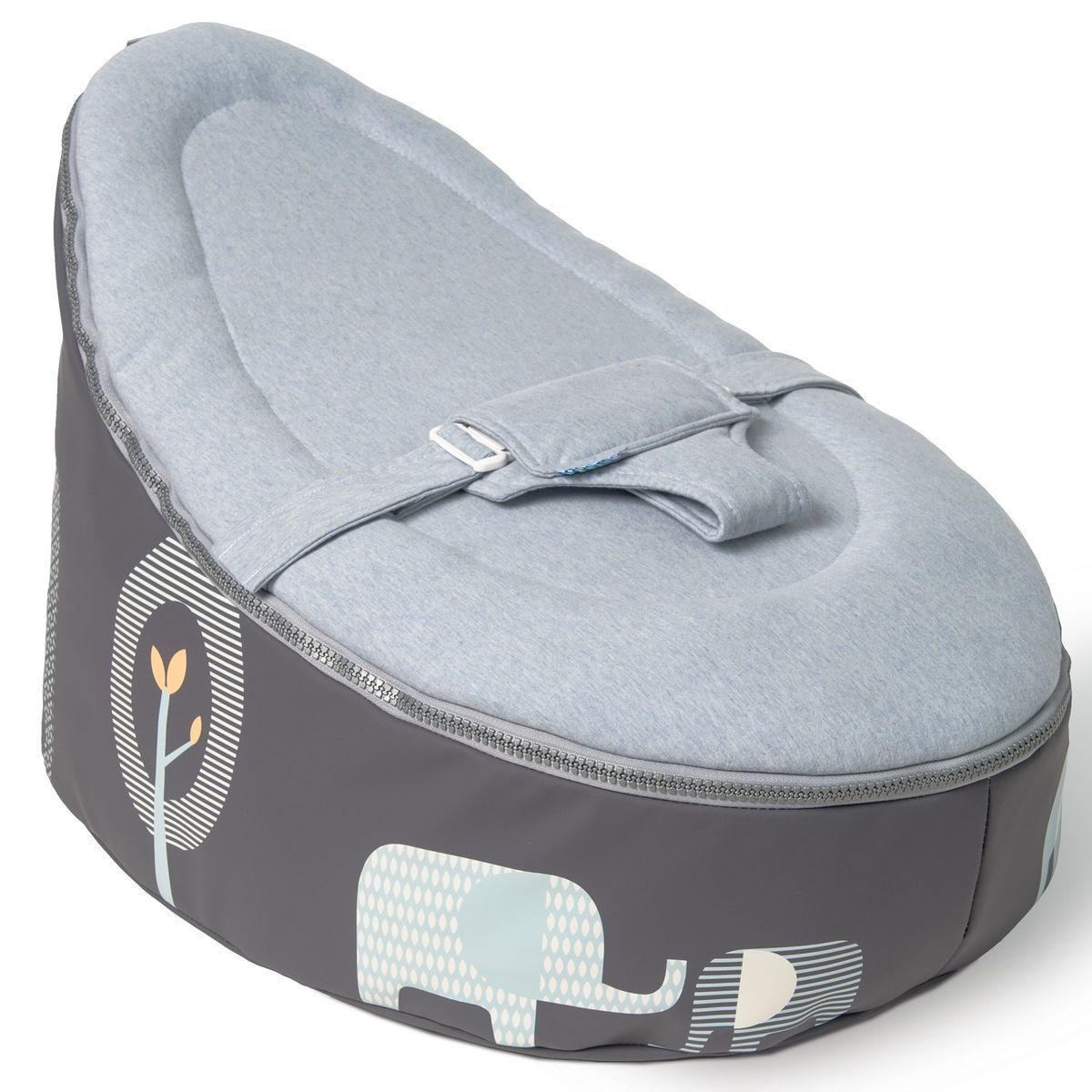 Pouf-relax SEAT Doomoo elephant-blue