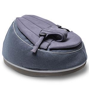 Pouf-relax SEAT'N SWING Doomoo bleu