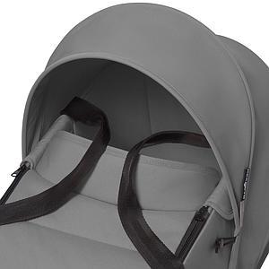Poussette BABYZEN YOYO² tout en un nacelle/siège auto/6+ noir-gris