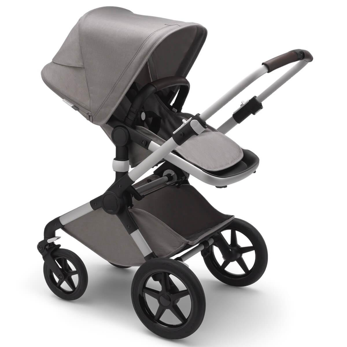 Poussette complet FOX2 Mineral Bugaboo alu-light grey