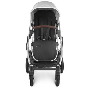 Poussette CRUZ V2 Uppababy Bryce blanc-silver-saddle leather