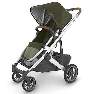 Poussette CRUZ V2 Uppababy Hazel olive-silver-saddle leather