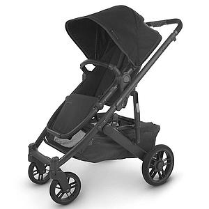 Poussette CRUZ V2 Uppababy Jake black mat carbon-black-leather