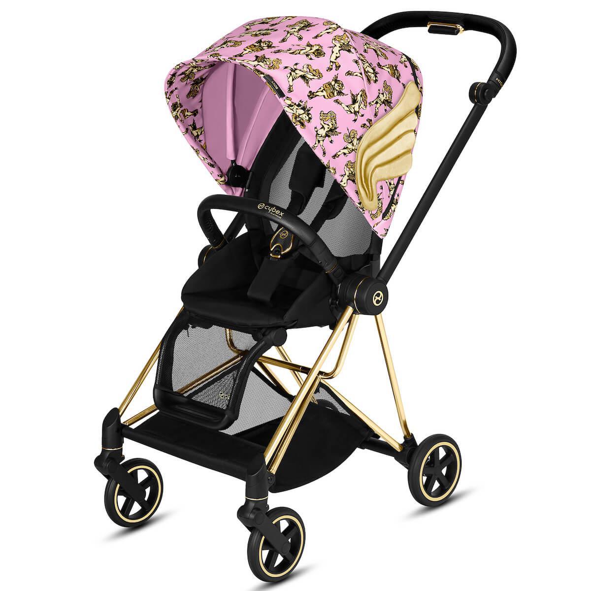 Poussette MIOS Cybex cherub pink-pink