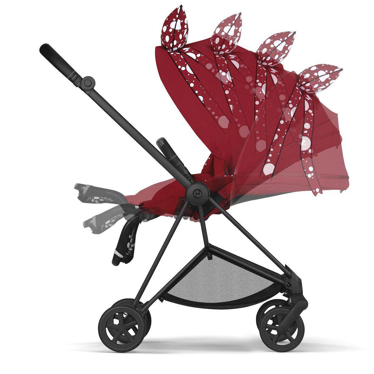 Poussette MIOS Cybex Petticoat Red dark red-noir