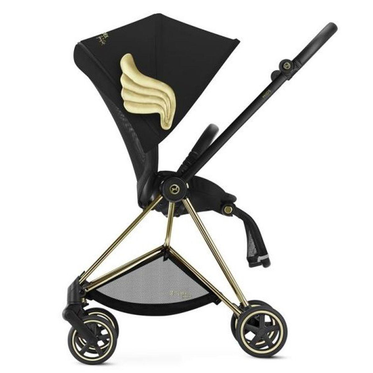 Poussette MIOS Cybex wings-black