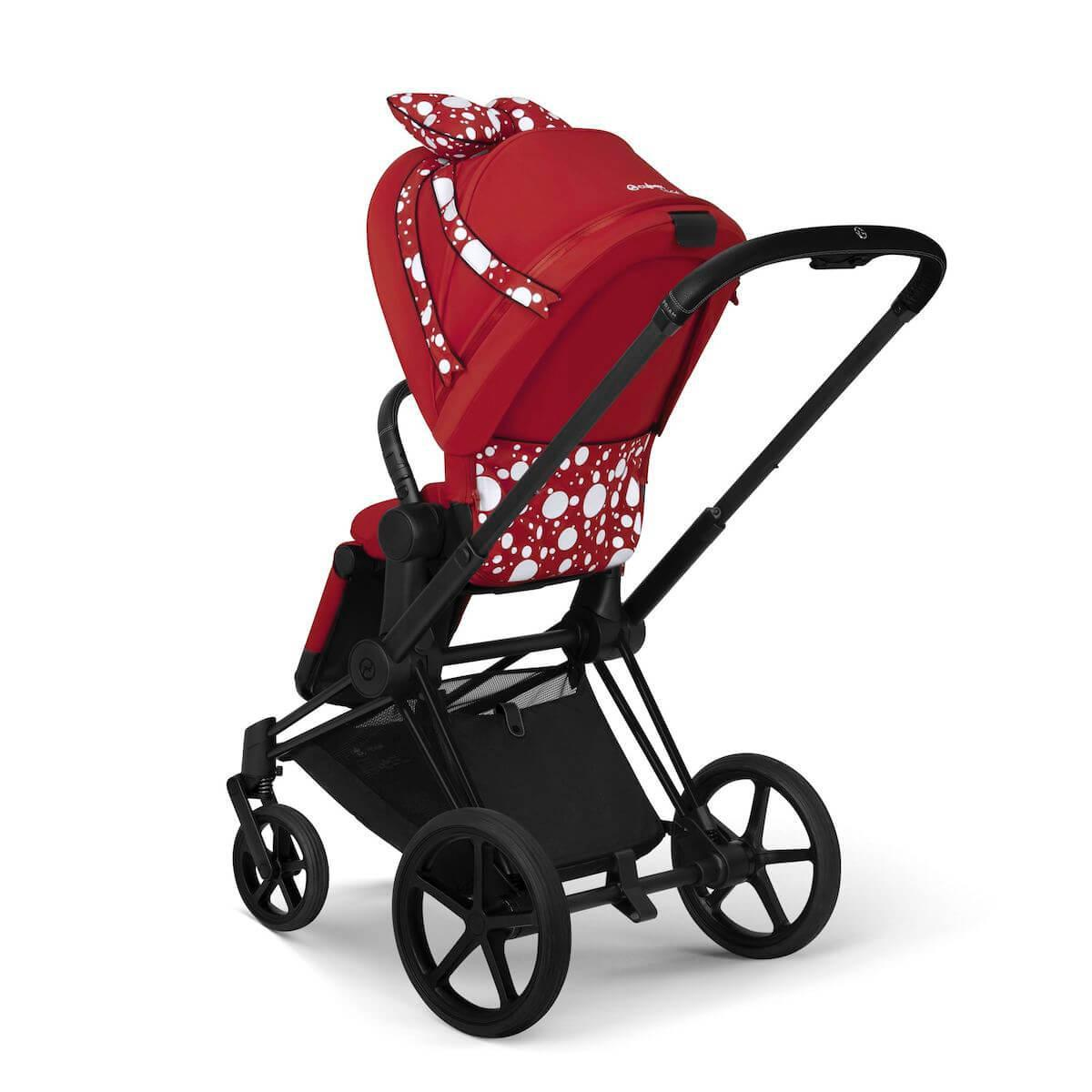 Poussette PRIAM Cybex Petticoat Red dark red-noir
