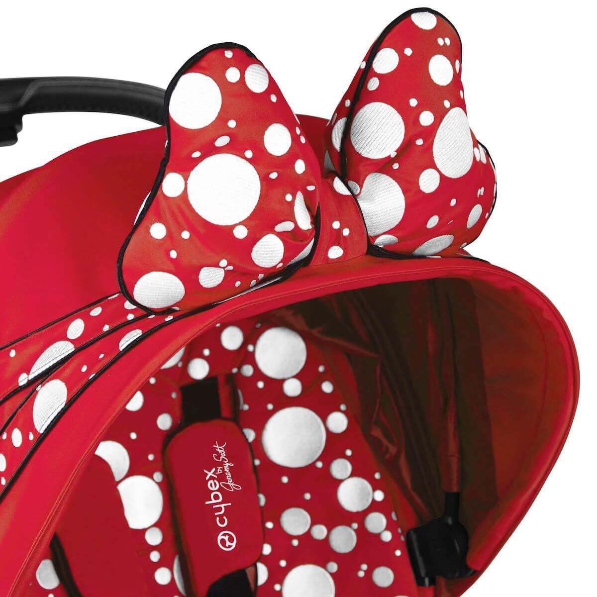 Poussette PRIAM Cybex Petticoat Red dark red-noir