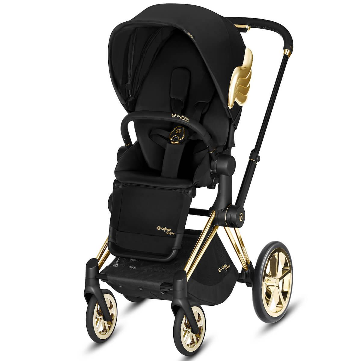 Poussette PRIAM Cybex wings-black