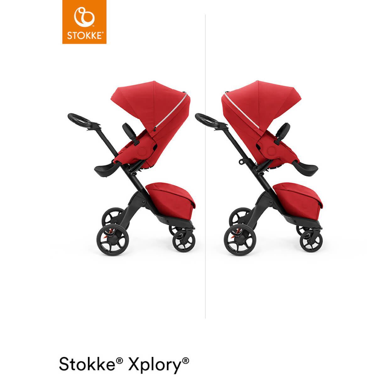 Poussette XPLORY X Stokke Ruby Red
