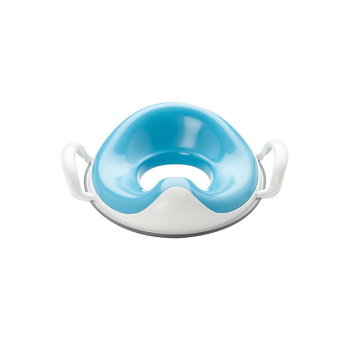 Réducteur toilette enfant - poignées WEEPOD Prince Lion Heart bleu