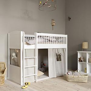Rideau de lit LILLE + Oliver Furniture rayé bleu