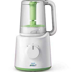Robot cuiseur vapeur / mixeur by Avent + pots