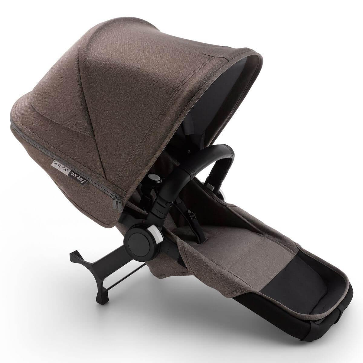 Set extension complet duo Bugaboo Donkey3 Mineral noir-taupe