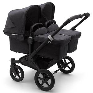 Set extension complet duo Bugaboo Donkey3 Mineral noir-washed black