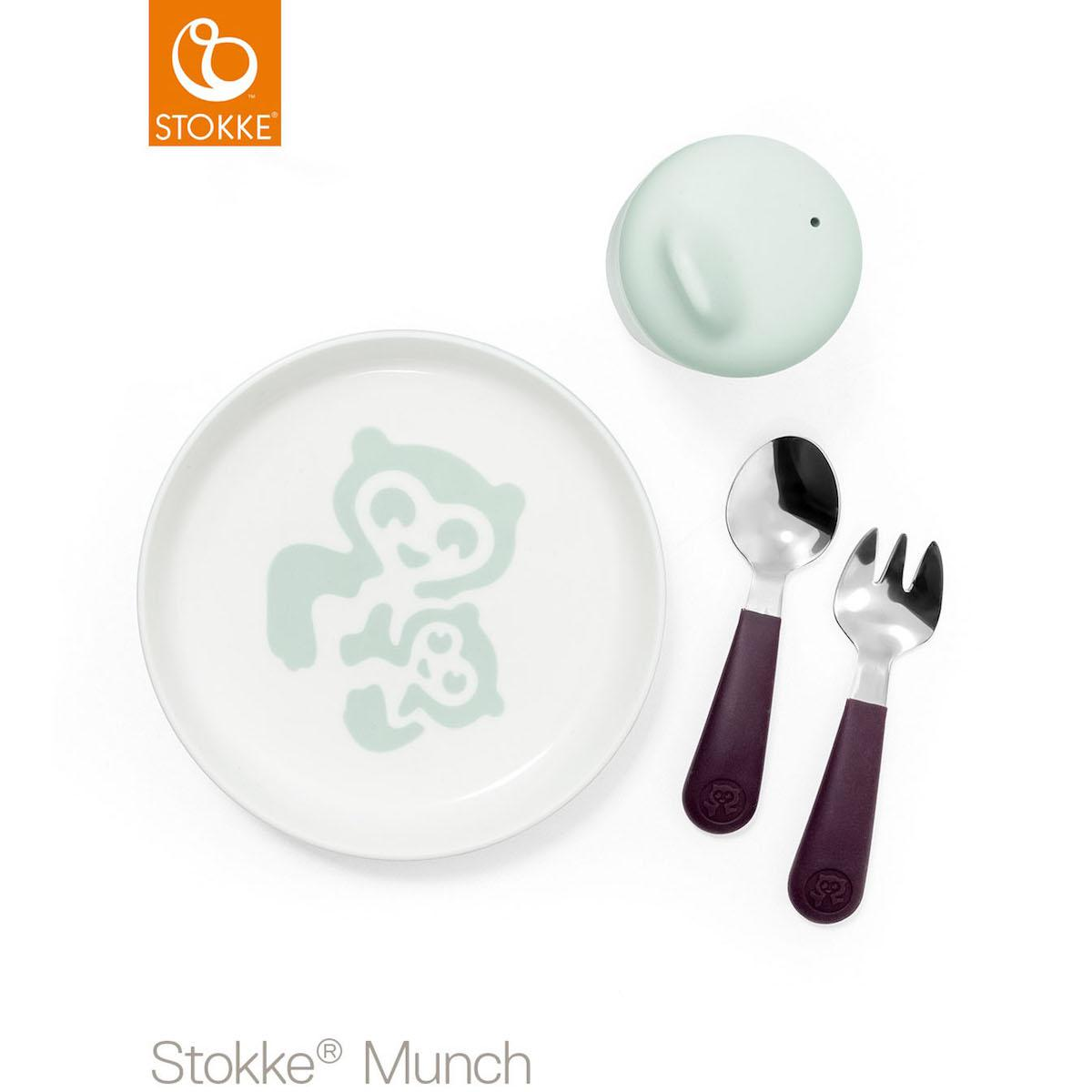 Set vaisselle essentials MUNCH Stokke mint