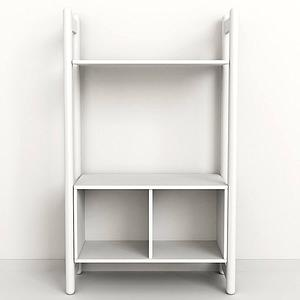 SHELFIE Midi A by Flexa Bibliothèque 131 cm Blanc
