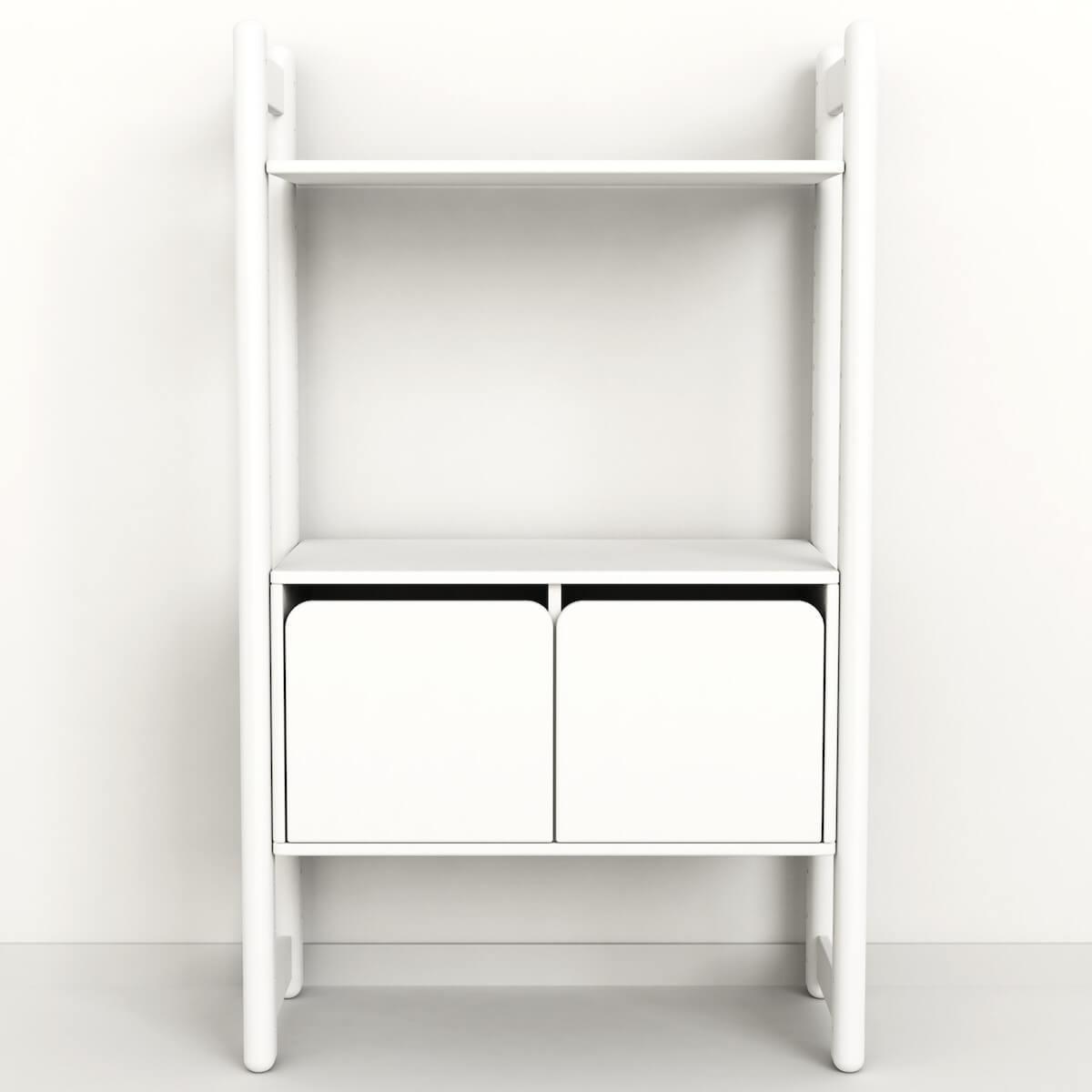 SHELFIE Midi C by Flexa Rangement 131 cm Blanc