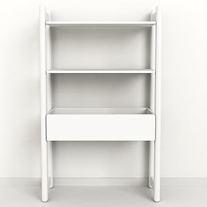 SHELFIE Midi D by Flexa Bac de rangement 131 cm Blanc