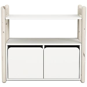 SHELFIE Mini C by Flexa Rangement 74 cm Blanc Blanchi