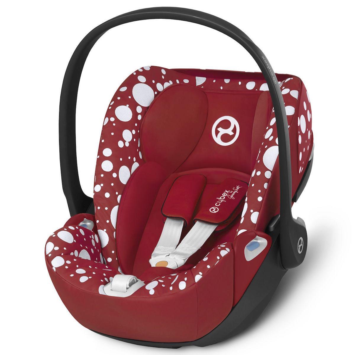 Siège auto gr0+ CLOUD Z I-SIZE Cybex Petticoat Red dark red