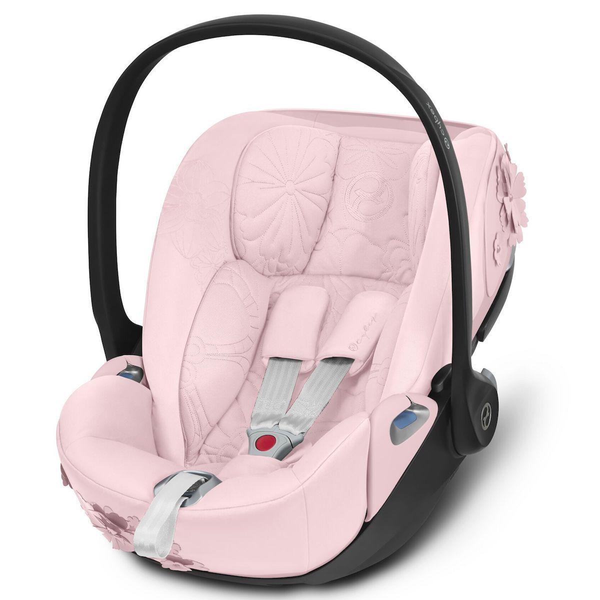 Siège auto gr0+ CLOUD Z I-SIZE Cybex simply flower pink light pink